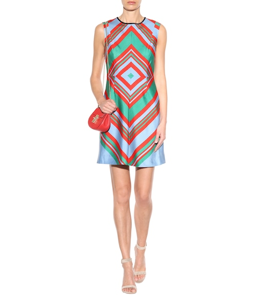 Diane von Furstenberg - Wool and silk dress - mytheresa.com