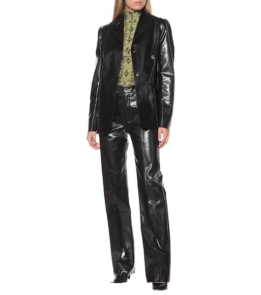 Kwaidan Editions - Faux leather jacket - mytheresa.com