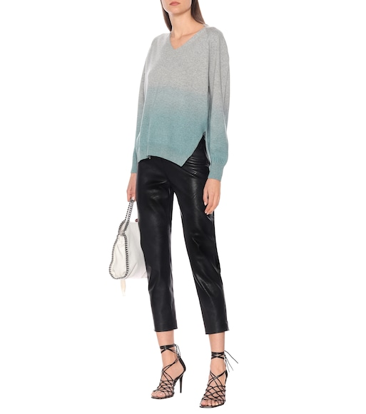 Stella McCartney - Gradient cashmere-blend sweater - mytheresa.com