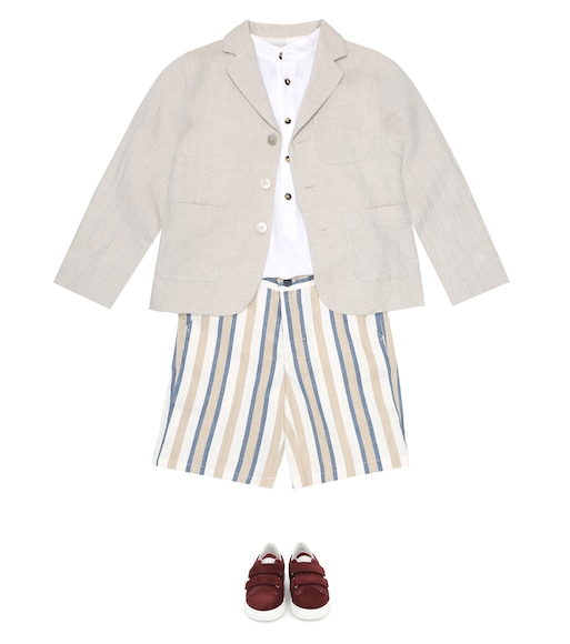 Bonpoint - Luca cotton and linen jacket - mytheresa.com