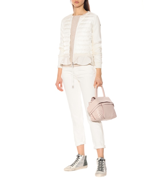 Moncler - Quilted down cotton cardigan - mytheresa.com