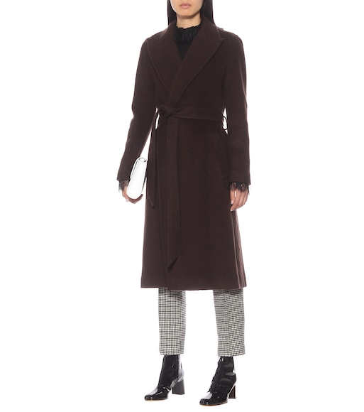 Polo Ralph Lauren - Wool-blend wrap coat - mytheresa.com