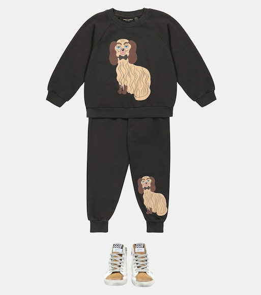 Mini Rodini - Dashing Dog cotton sweatpants - mytheresa.com