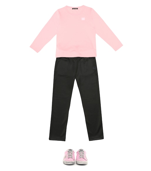 Acne Studios Kids - Jogginghose Mini Face - mytheresa.com