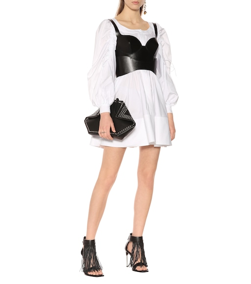 Alexander McQueen - Cotton minidress - mytheresa.com