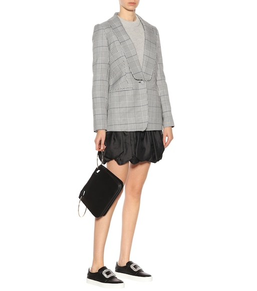 Self-Portrait - Woven plaid blazer - mytheresa.com