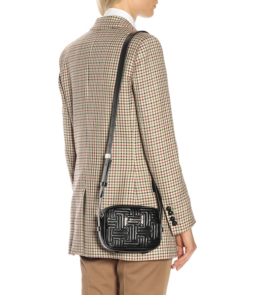 Tod's - Double T leather shoulder bag - mytheresa.com