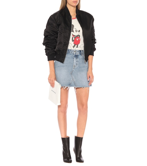 Grlfrnd - The Eva denim miniskirt - mytheresa.com