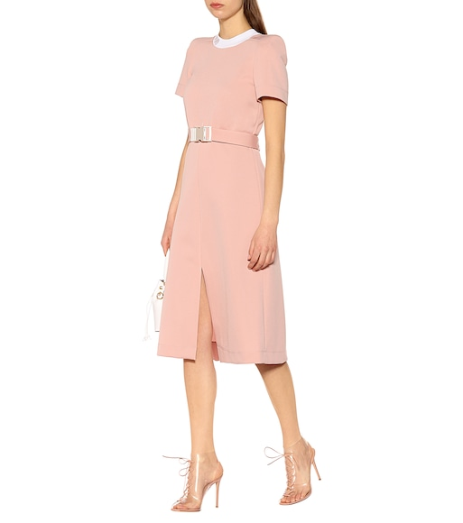 Fendi - Crêpe midi dress - mytheresa.com