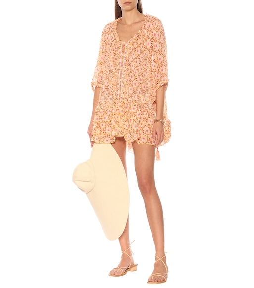 Poupette St Barth - Exclusive to Mytheresa – Fleur printed cotton minidress - mytheresa.com