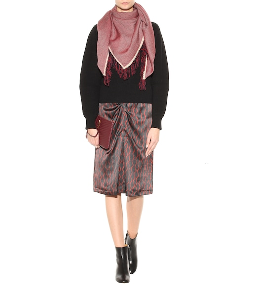 Isabel Marant - Swann wool and cashmere scarf - mytheresa.com
