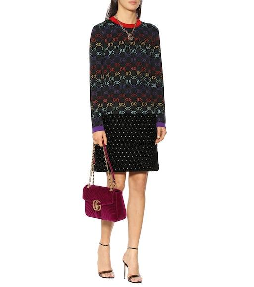 fbc09134 GG wool jacquard sweater