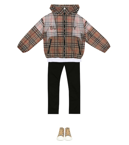 Burberry Kids - Vintage Check technical jacket - mytheresa.com