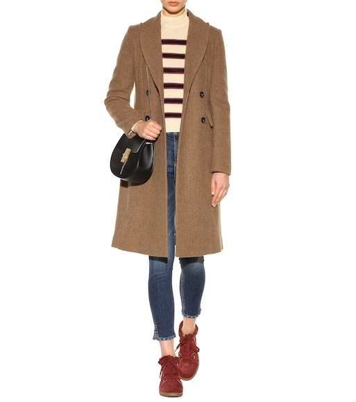 Isabel Marant - Danki alpaca and virgin wool coat - mytheresa.com