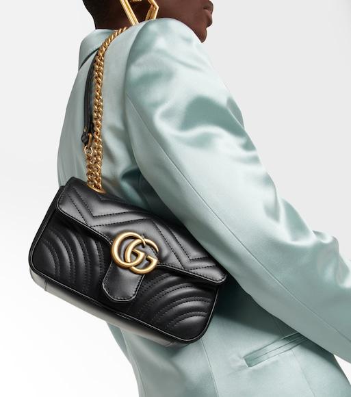 729bdc380 Gg Marmont Mini Matelassé Leather Shoulder Bag | Gucci - mytheresa.com