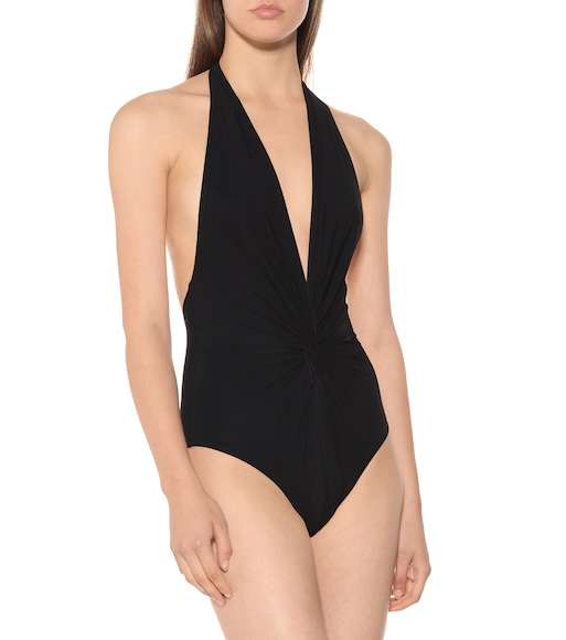 Karla Colletto - Halter swimsuit - mytheresa.com