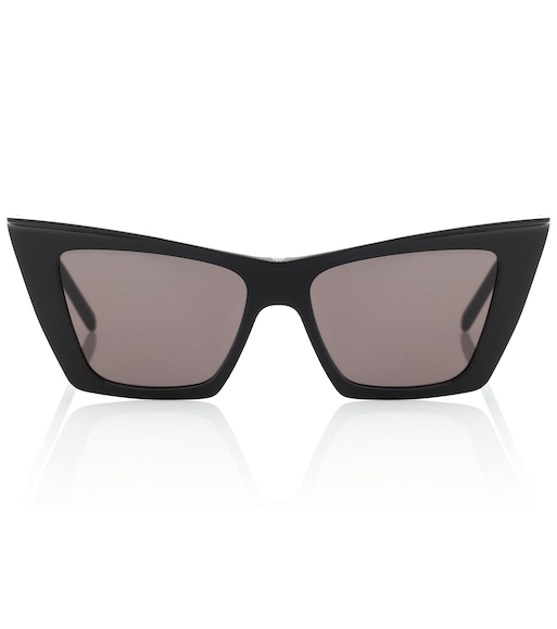 Saint Laurent - Cat-eye acetate sunglasses - mytheresa.com