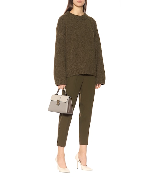 Bottega Veneta - Cropped wool pants - mytheresa.com