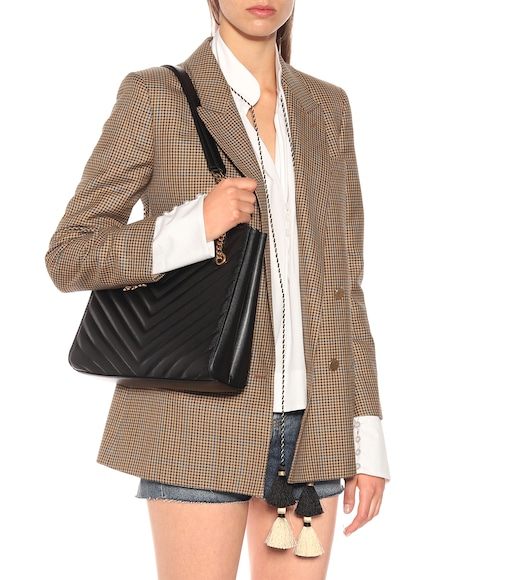 Saint Laurent - Shopper Tribeca Medium de piel - mytheresa.com