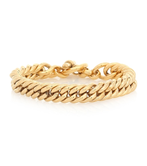 Tilly Sveaas - Small 23.5kt gold-plated bracelet - mytheresa.com