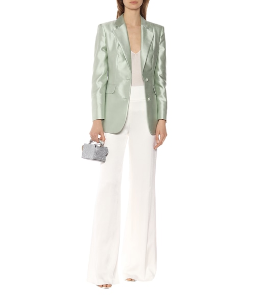 Max Mara - Omar cotton and silk blazer - mytheresa.com