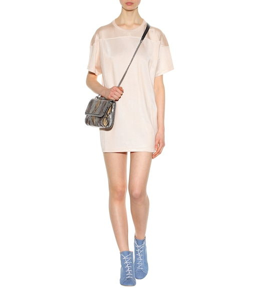 Acne Studios - Tayla Vanise cotton-blend T-shirt - mytheresa.com