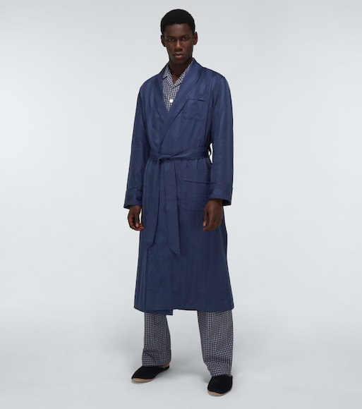Derek Rose - Lingfield cotton robe - mytheresa.com