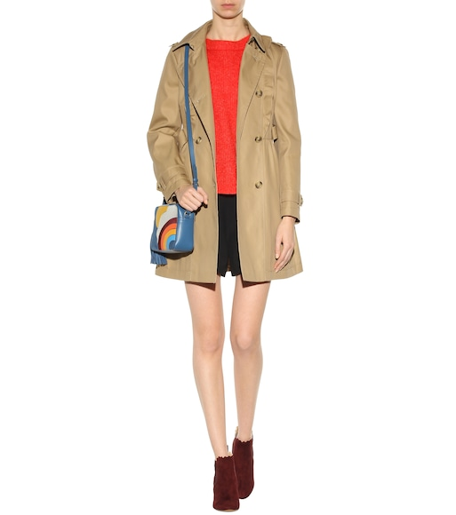 REDValentino - Cotton-blend trench coat - mytheresa.com