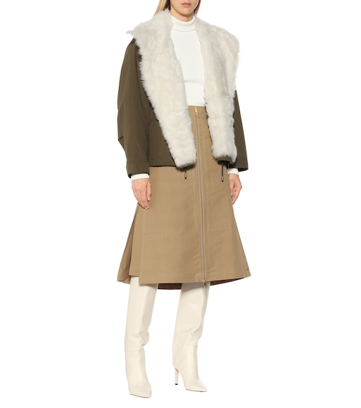 Yves Salomon - Army - Shearling jacket - mytheresa.com