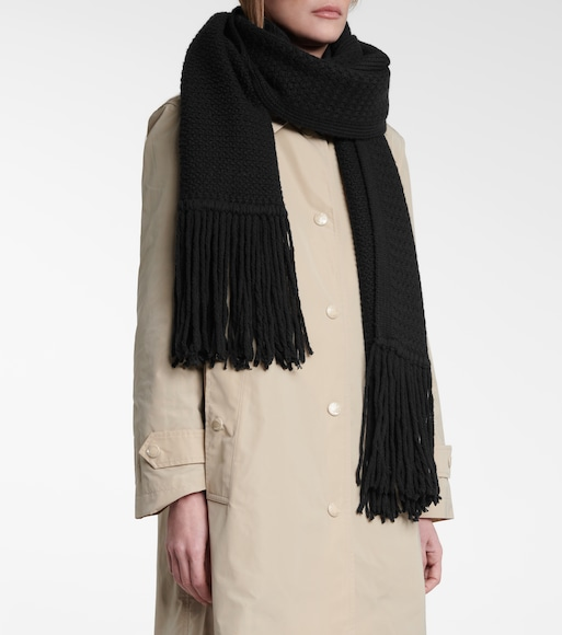 Burberry - Exclusive to Mytheresa – Future Archive wool and cashmere scarf - mytheresa.com