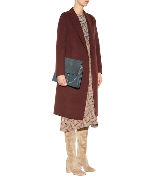 Gianvito Rossi - Rolling 85 suede over-the-knee boots - mytheresa.com