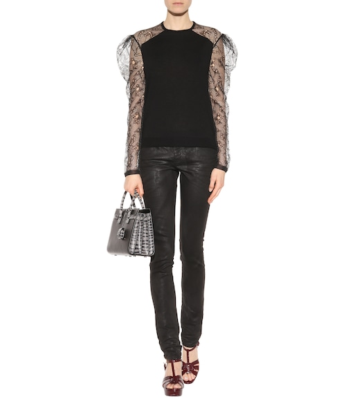 Saint Laurent - Cashmere top - mytheresa.com