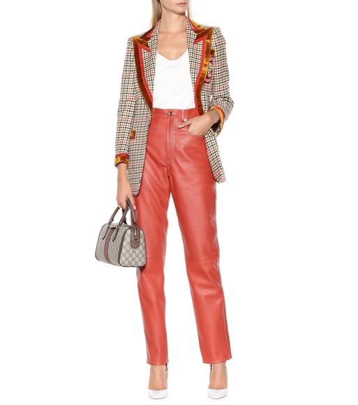 0d902d68cc0 Gucci - Leather pants - mytheresa.com