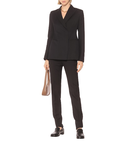The Row - Lanois wool and silk-blend blazer - mytheresa.com