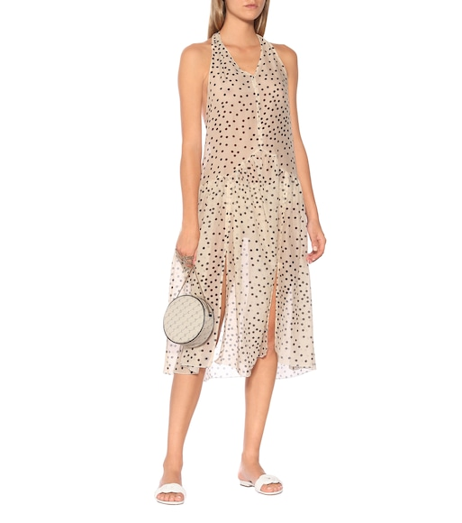Stella McCartney - Polka-dot cotton and silk dress - mytheresa.com