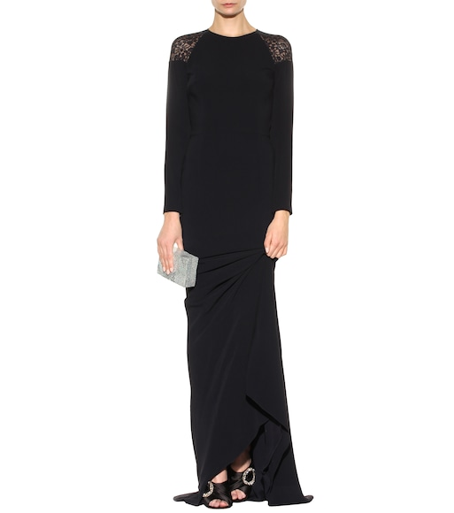 Stella McCartney - Lace-embellished gown - mytheresa.com