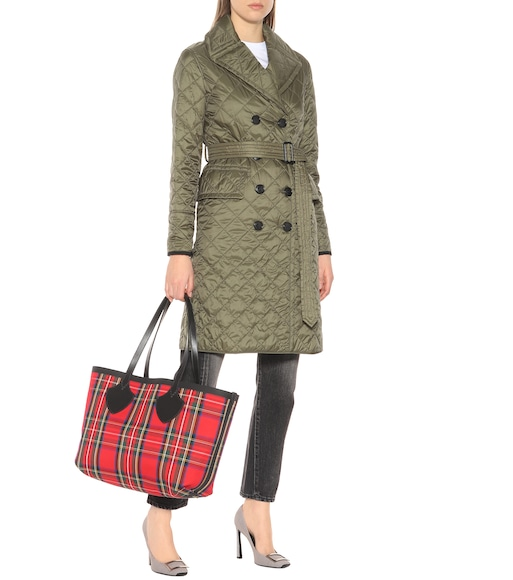 Burberry - Quilted trench coat - mytheresa.com