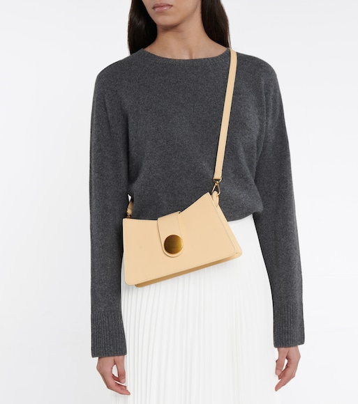 Elleme - Baguette leather shoulder bag - mytheresa.com