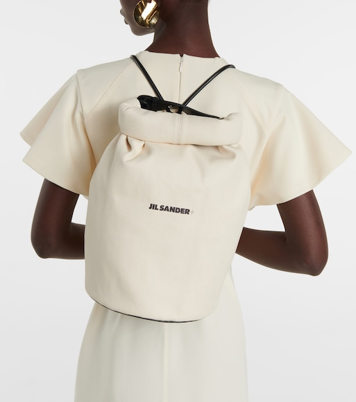 Jil Sander - Canvas backpack - mytheresa.com
