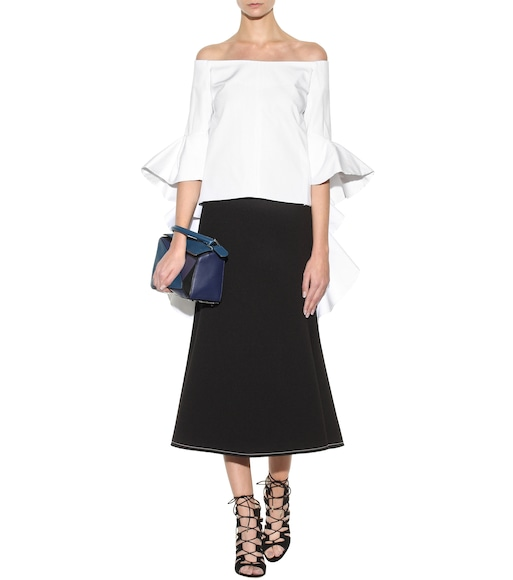Ellery - Exclusive to mytheresa.com – Delores off-the-shoulder blouse - mytheresa.com