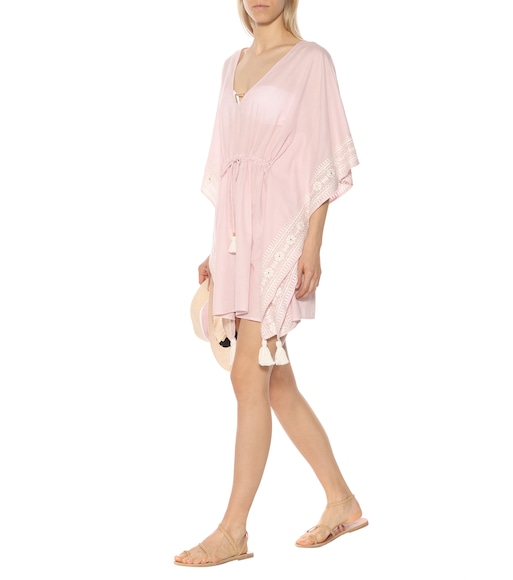 Tory Burch - Ravena striped cotton kaftan - mytheresa.com
