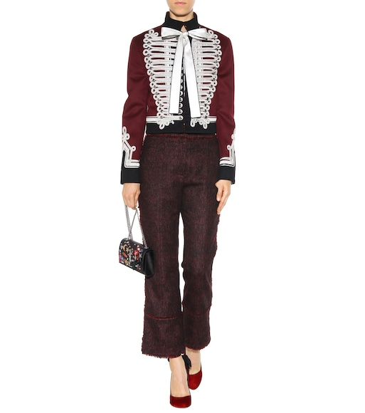 Erdem - Verity wool-blend trousers - mytheresa.com