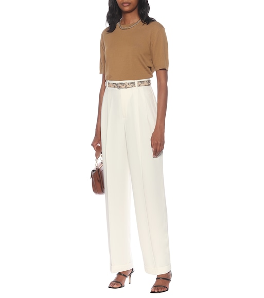 Polo Ralph Lauren - High-rise straight-fit pants - mytheresa.com