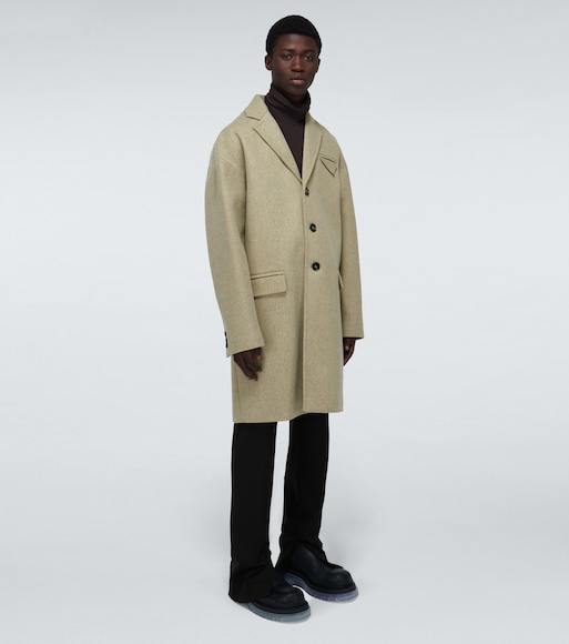 Bottega Veneta - Wool-blend single-breasted coat - mytheresa.com