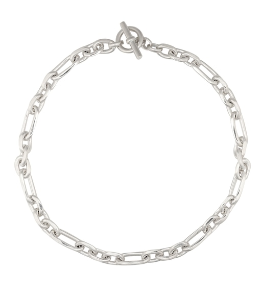 Tilly Sveaas - Sterling silver-plated watch chain necklace - mytheresa.com