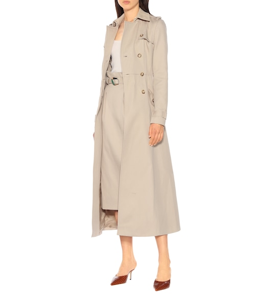 Gabriela Hearst - Cassatt cotton twill trench coat - mytheresa.com
