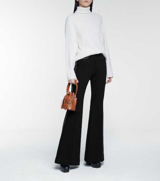Fendi - High-rise flared jeans - mytheresa.com