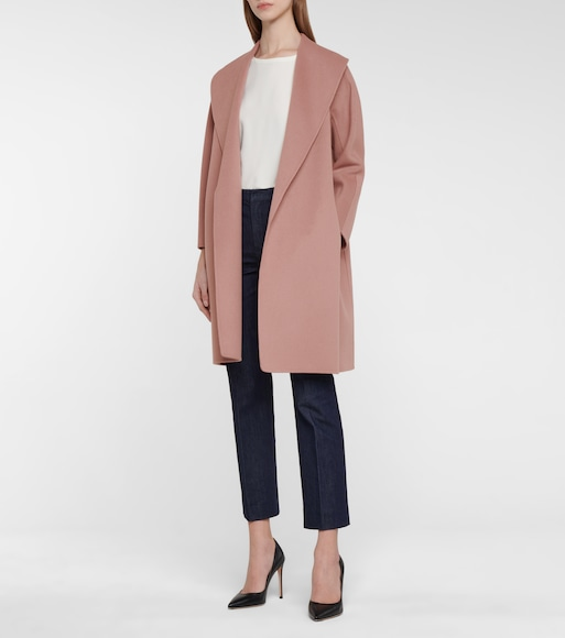 S Max Mara - Messi belted virgin wool coat - mytheresa.com