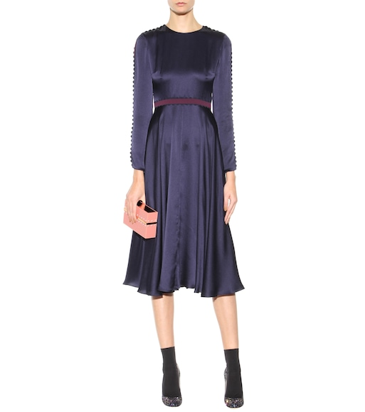 Roksanda - Lasdun silk dress - mytheresa.com