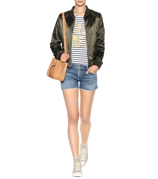 Citizens of Humanity - Ava cut-off denim shorts - mytheresa.com